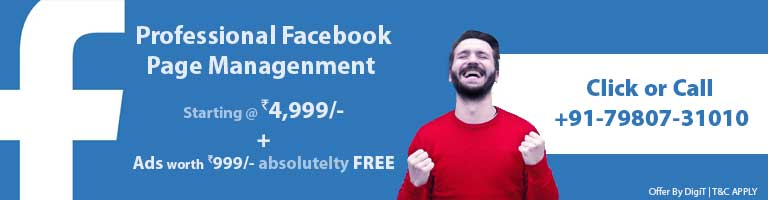 Facebook Page Management By DigiT - TejomDigital - 7980731010